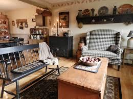 Primitive Curtains For Living Room Appealing Primitive Living Room Decorating Ideas Photo Lollagram
