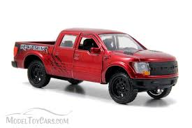 Ford F-150 SVT Raptor Pickup Truck, Red - Jada Toys Just Trucks ...