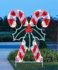 Large Candy Cane Decorations Outdoor Candy Cane Decorations Best Outdoor Rations Images On 60