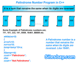 How to check number is palindrome number or not in java, program for reverse, palindrome number in c (hindi/urdu). Palindrome Number Program In C C Program