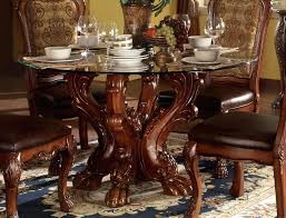 54 round table formal carved wood round top dining table in 54 inch table top 54 round