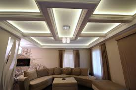coffered ceiling lighting.  Ceiling Coffered Ceiling Lighting Image With O