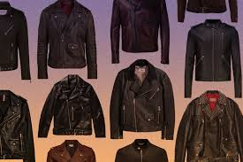 50 black leather biker jackets to right now