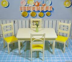 plastic dollhouse furniture sets. renwal table u0026 chair set vintage dollhouse furniture 116 plastic sets e