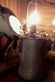 primitive lighting ideas. primitive light made from old antique coffee pot by cindyu0027s primitives lighting ideas