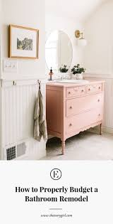 bathroom remodel on a budget pictures. Plain Bathroom With The Average Bathroom Renovation Costing Around 10000 Itu0027s No Wonder  Taking On A Remodel Can Be Daunting Itu0027s Big Financial Commitment In Bathroom Remodel On A Budget Pictures O
