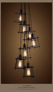 Us 551 5 Offvintage Hängependelleuchten Leuchte Schwarz Startseite Innenbeleuchtung American Industrial Retro Droplight Hängelampen Leuchte In