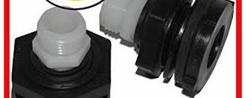 garden hose adapter bulkhead connector