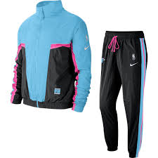 Get the best deal for nike miami heat nba jackets from the largest online selection at ebay.com. Nike Nba Miami Heat City Edition Courtside Tracksuit Blue Gale Pour 130 00 Kicksmaniac Com