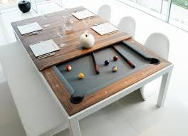 convertible dining room pool table design