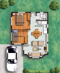 2 bedroom house floor plans philippines. chamomile model house features: 2 bedroom floor plans philippines o