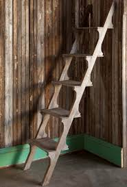 wooden display shelf ladder park hill collections ll9001