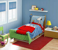 snoopy toddler bedding set wall art ideas bedroom check sets more quilt and pillow sports childrens