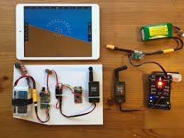 mavlink radio telemetry for ios pixhawk primary flight display on ipad mini via radio telemetry