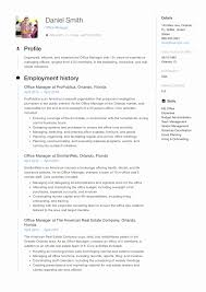 Office Manager Resume Template Elegant Resume Samples Fice Manager