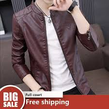 urban men s leather jackets er jacket black leather jacket for men faux leather coats plus size