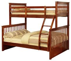 Paloma Mission Bunk Bed, Twin Over Full - Transitional - Bunk Beds ...