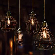 industrial cage lighting. Image Is Loading Bulb-Cage-Light-Fittings-bulb-cage-industrial-vintage- Industrial Cage Lighting