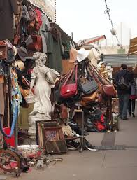 the paris flea markets at clignancourt are the largest paris market and one of the best