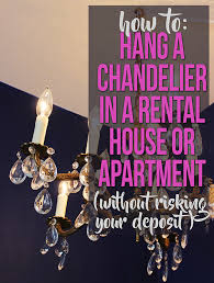 diy how to turn a hardwired light fixture i e chandelier into