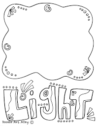 Energy Coloring Pages Printables Classroom Doodles