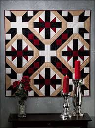 Free Wall Quilt Patterns - Black Tie -- Free Quilt Pattern ... & Make a chic wall quilt to accent your home decor. Three pieced blocks  combine to make a black tie and cummerbund mosaic in this free quilting  pattern. Adamdwight.com