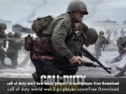 Call Of Duty Ww2 How Many Players In Multiplayer Free