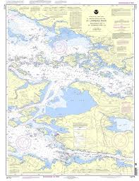 Chart 14782 Noaa Chart 14773 Gananoque Ont To St Lawrence Park N Y