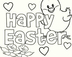 Easter Coloring Pages For Children Hd Easter Images