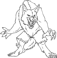 Kids of all ages will love this fun halloween activity, especially preschoolers, toddlers and kindergartners #werewolf #werewolfcoloring. Zombie Demon Wolves Coloring Pages Monster Coloring Pages Werewolf Drawing Werewolf