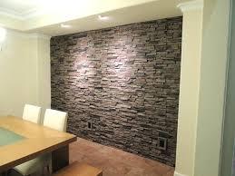 faux brick wall panel home depot interior faux stone wall panels
