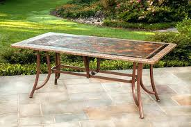 stone patio table. Beautiful Stone Top Patio Table For Elegant Ideas .