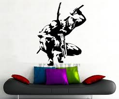 deadpool wall sticker dc marvel comics superhero vinyl stickers boy child home interior room mural wall on marvel comics mural wall graphic with deadpool wall sticker dc marvel comics superhero vinyl stickers boy