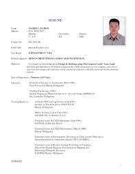 Sample Resume For Mechanical Technician Resume Sample For Mechanical Technician Danayaus 14