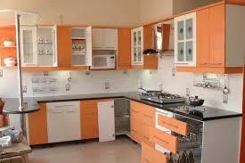 modern kitchen ideas 2012. Amazing White Orange Kitchen Decorating Ideas With Small Modern Cabinets Design 2012 Impressive