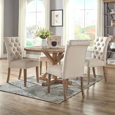 48 round dining table rustic x base inch round dining table set by inspire q artisan