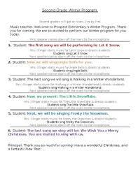 Christmas Program Theme Christmas Program Winter Snow Theme