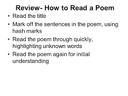 compare and contrast essay ppt  review how to a poem