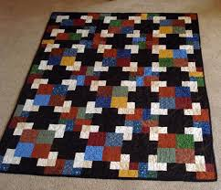 Sew a Quilt with Colorful Overlapping Squares & 2010 New Year's Day Mystery Quilt Adamdwight.com