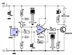 temperature controlled switch wiring diagram circuit temperature controlled switch circuit
