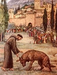 Resultado de imagen para san francisco de asis y los animales