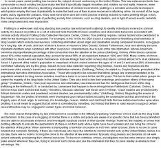 racial profiling thesis paper racial profiling research paper essayempire