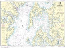 Noaa Nautical Chart 12270 Chesapeake Bay Eastern Bay And South River Selby Bay