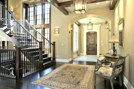round foyer area rugs entry rug image of placed placement ideas doormat size