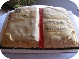 KarenTrina Childress FAMILY FAVORITES FRIDAY Open Book Cake