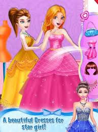 star doll fashion makeup games poster