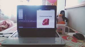ubuntu home office. #study #ruby #programming #development #rubygirl #bedroom #homeoffice #rudiments Ubuntu Home Office