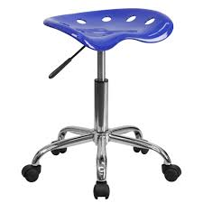 Nautical office furniture Bar Boat Flash Furniture Vibrant Nautical Blue Tractor Seat And Chrome Stool Milmud Flash Furniture Vibrant Nautical Blue Tractor Seat And Chrome Stool