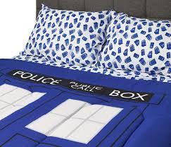 Doctor Who TARDIS Bedding