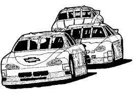 Small Picture Car Race Track Coloring Page Race Car car coloring pages Race